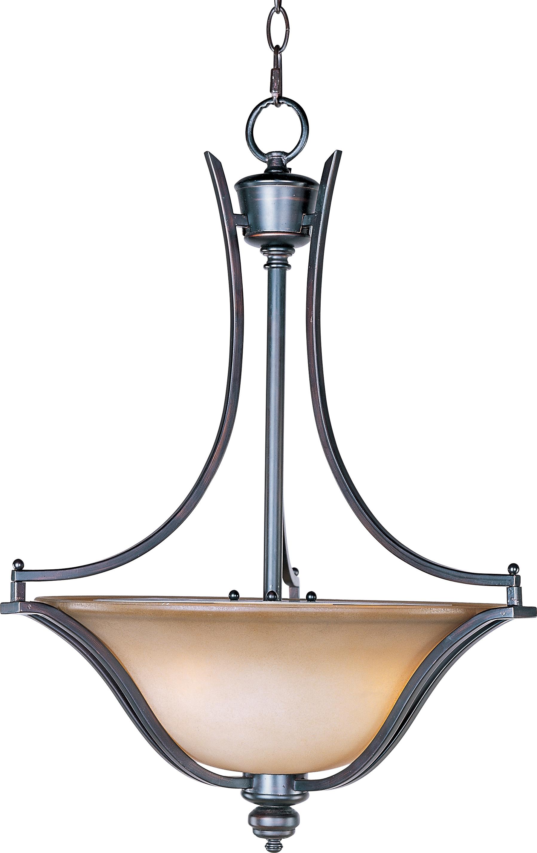 Madera Bowl Pendant | Maxim Lighting