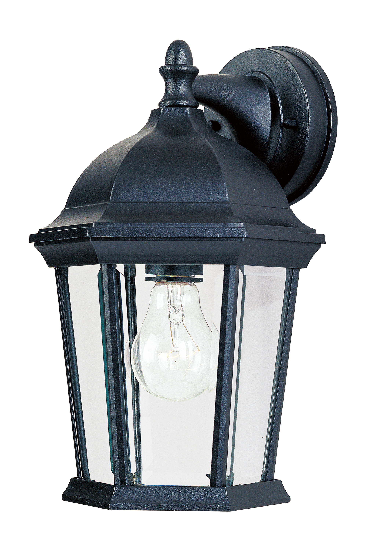 Builder Cast 1 Light Outdoor Wall Lantern Maxim Lighting Wiring Diagram For Dusk To Dawn Control