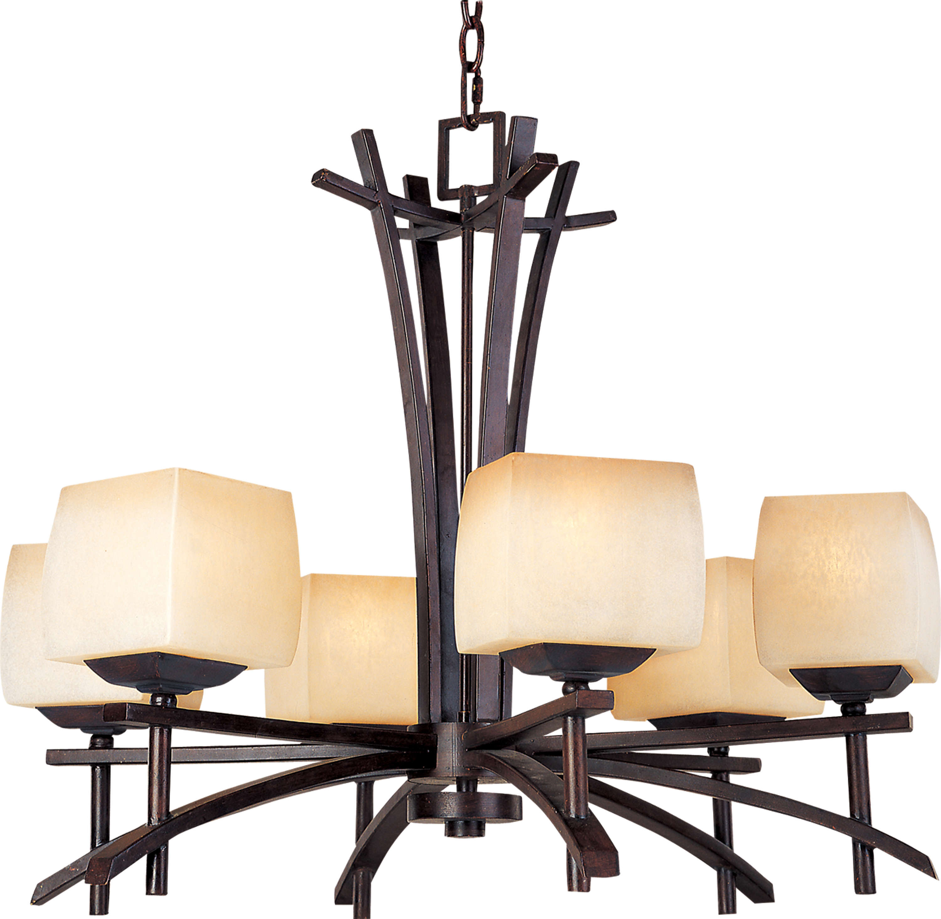 Asiana 6-Light Chandelier - 10985WSRC