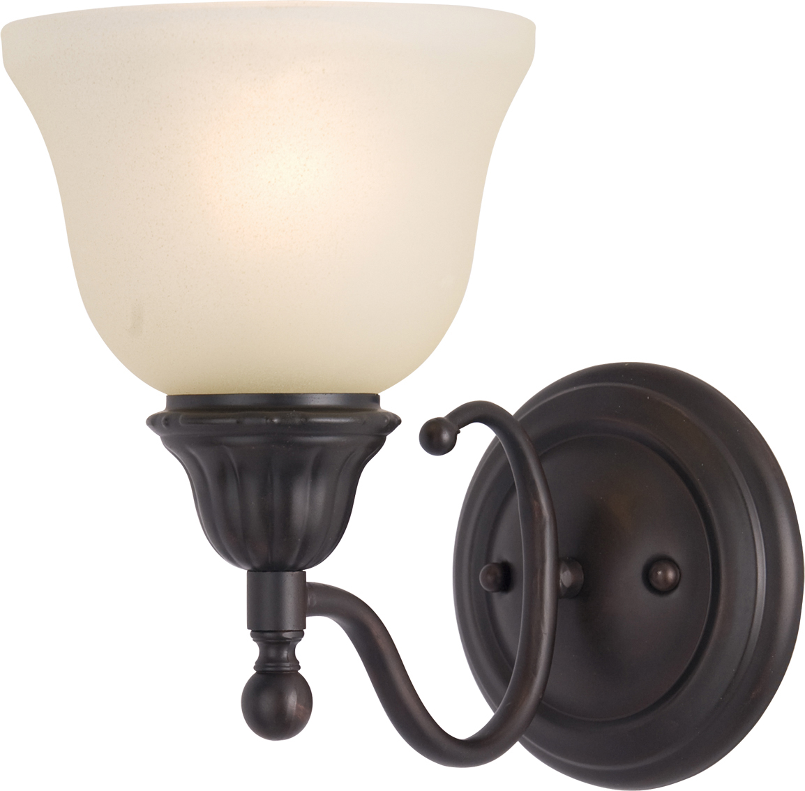 soho 1 light wall sconce wall sconce maxim lighting. Black Bedroom Furniture Sets. Home Design Ideas