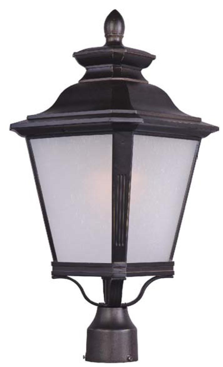 Knoxville 1 Light Outdoor Pole Post Lantern Outdoor