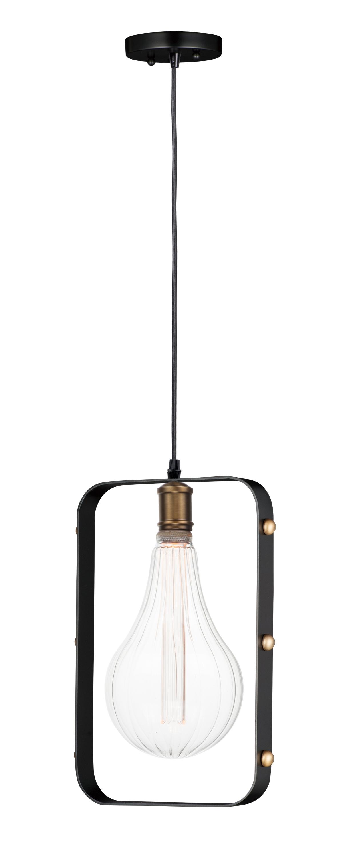 Early Electric 1 Light Pendant Pendant Maxim Lighting