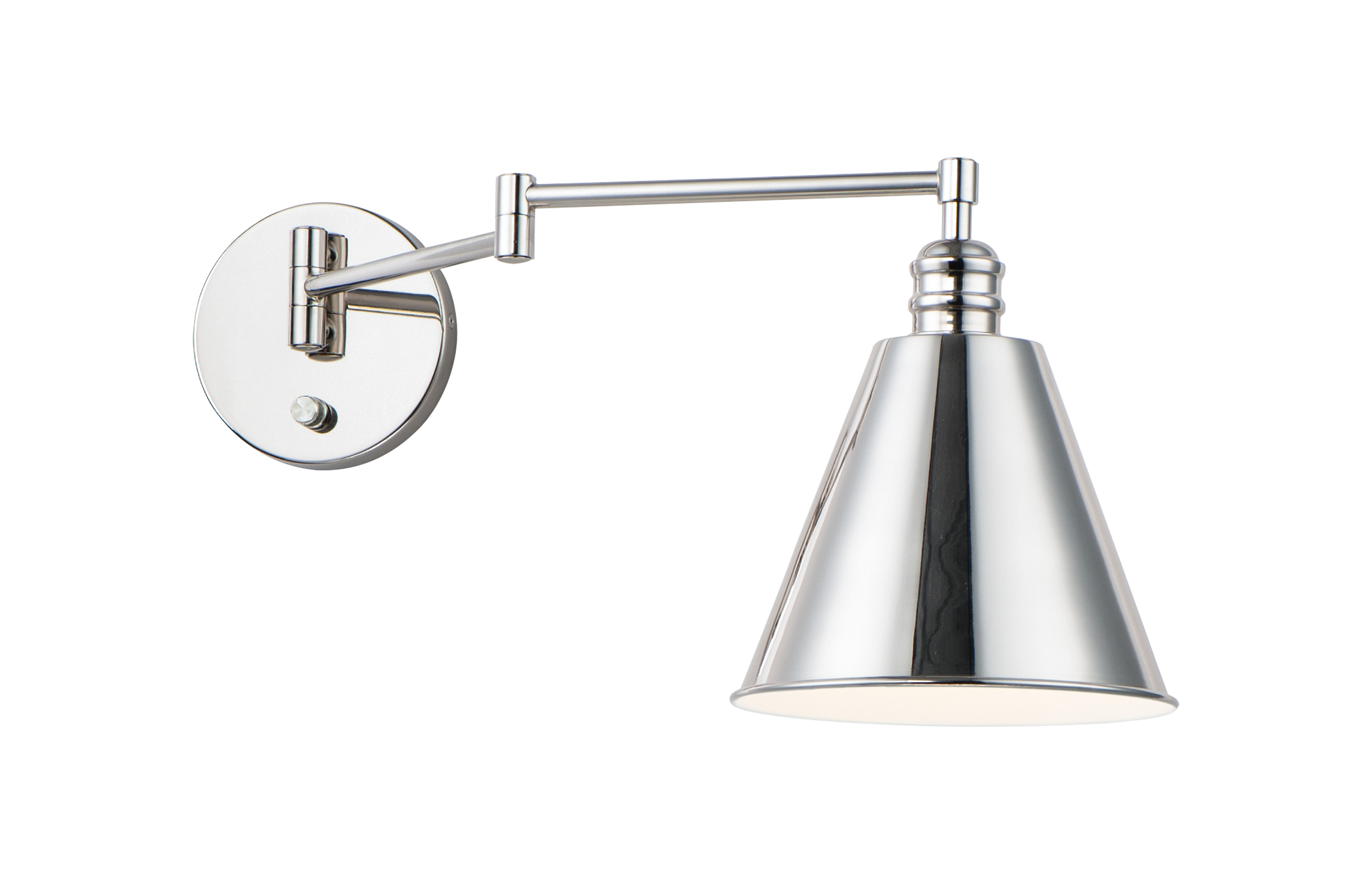 Library Wall Sconce Horizontal Swing Arm | Maxim Lighting