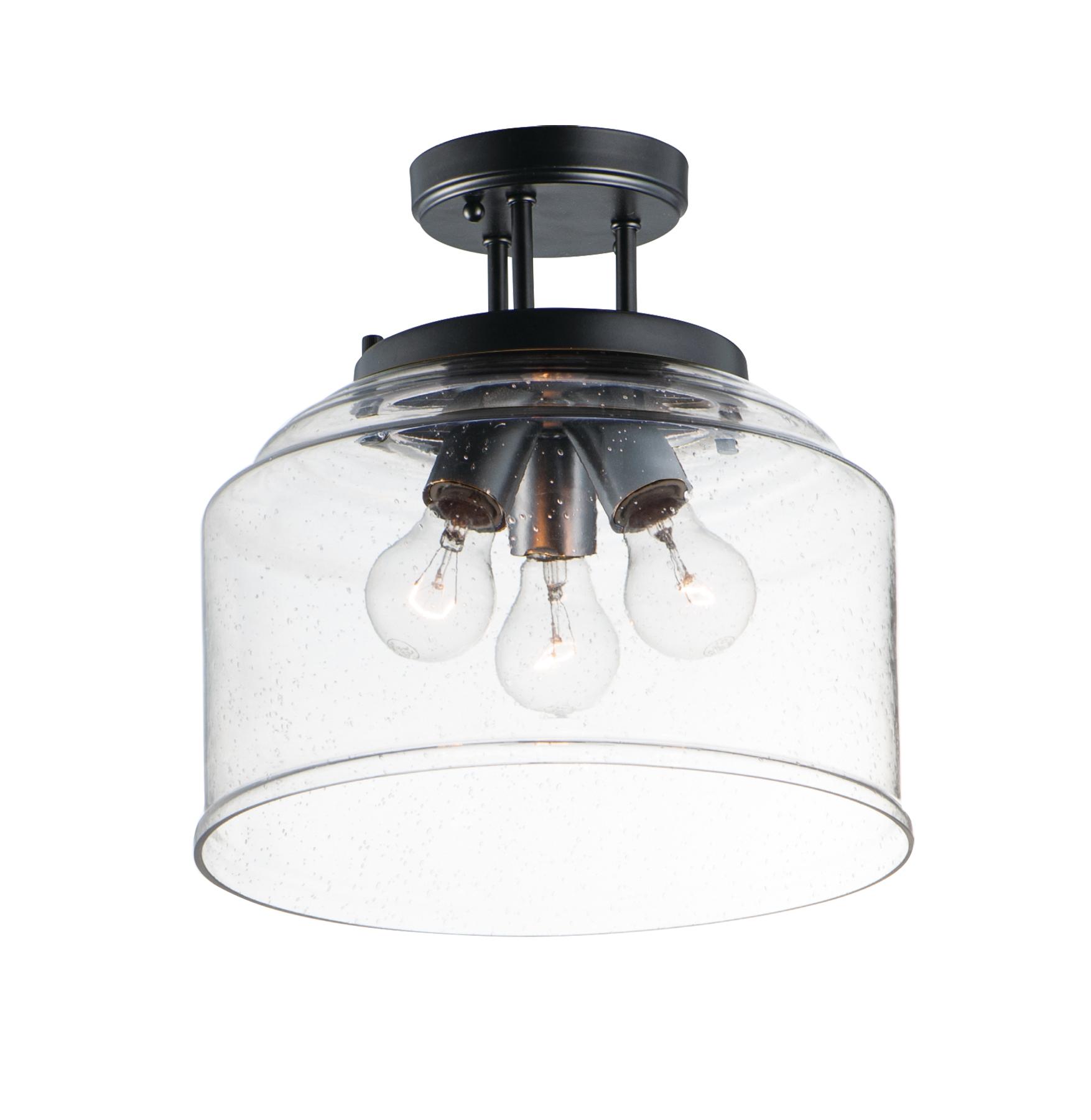 Acadia Semi Flush Mount   Maxim Lighting
