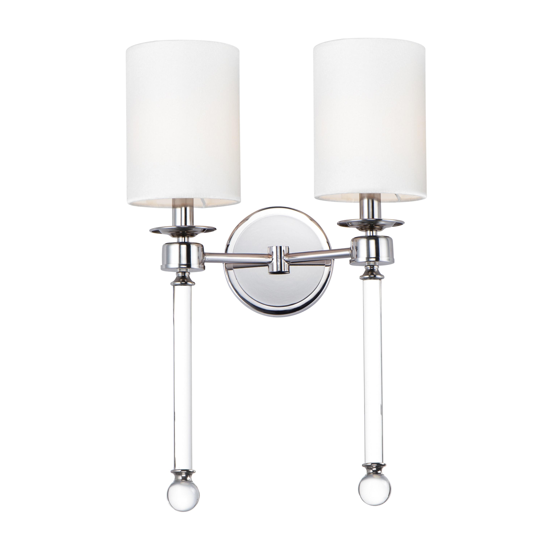 Lucent 2-Light Wall Sconce | Maxim Lighting