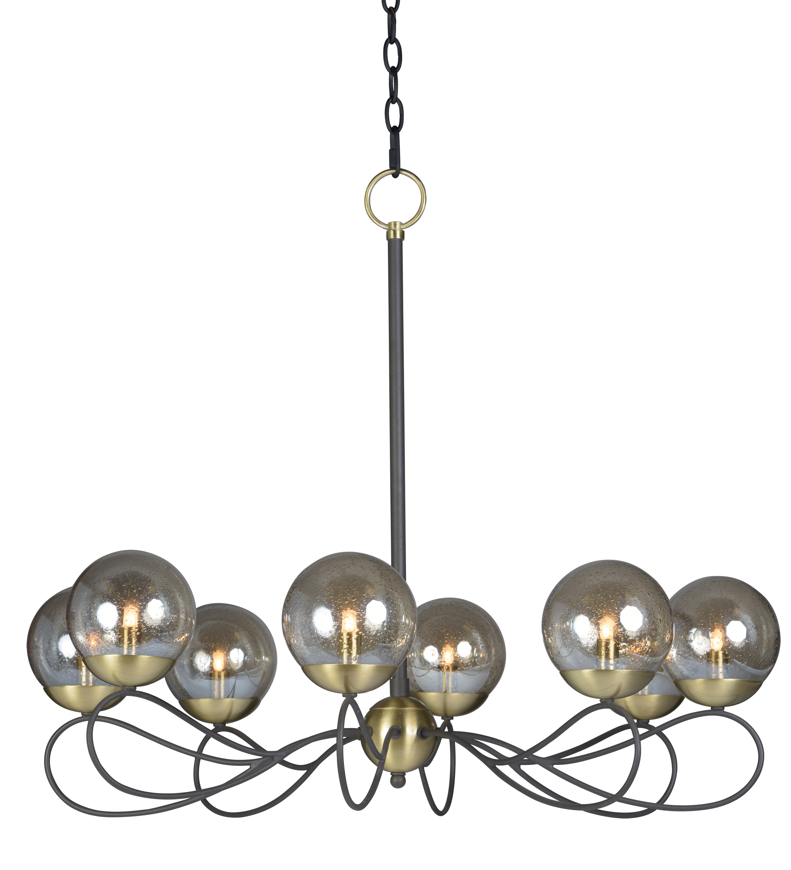 Reverb Chandelier   Maxim Lighting