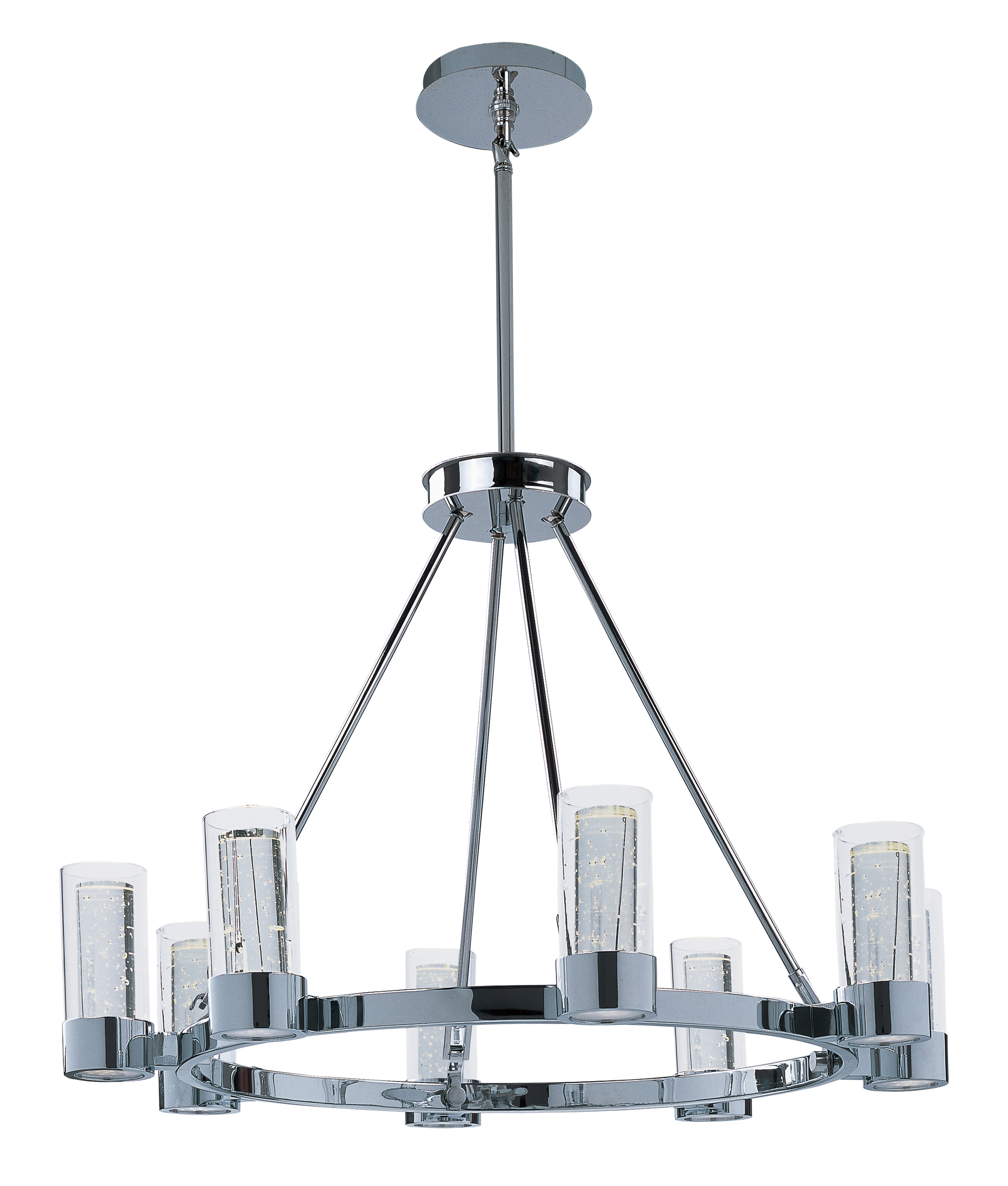 Sync led 8 light ring chandelier sync aloadofball Image collections