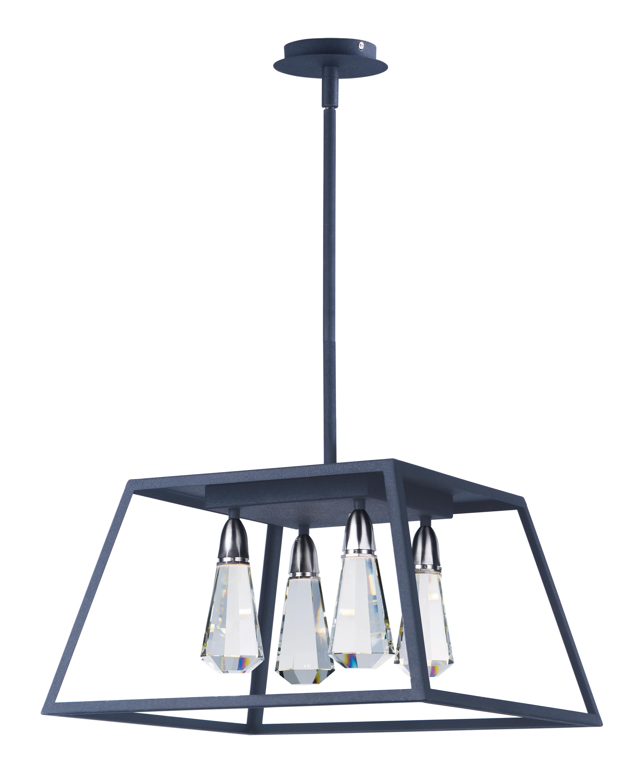 Silhouette 4 Light LED Pendant Single Pendant Maxim Lighting