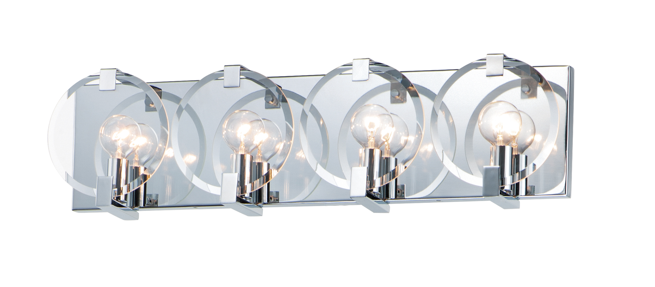 Looking Glass 4-Light Wall Sconce | Maxim Lighting