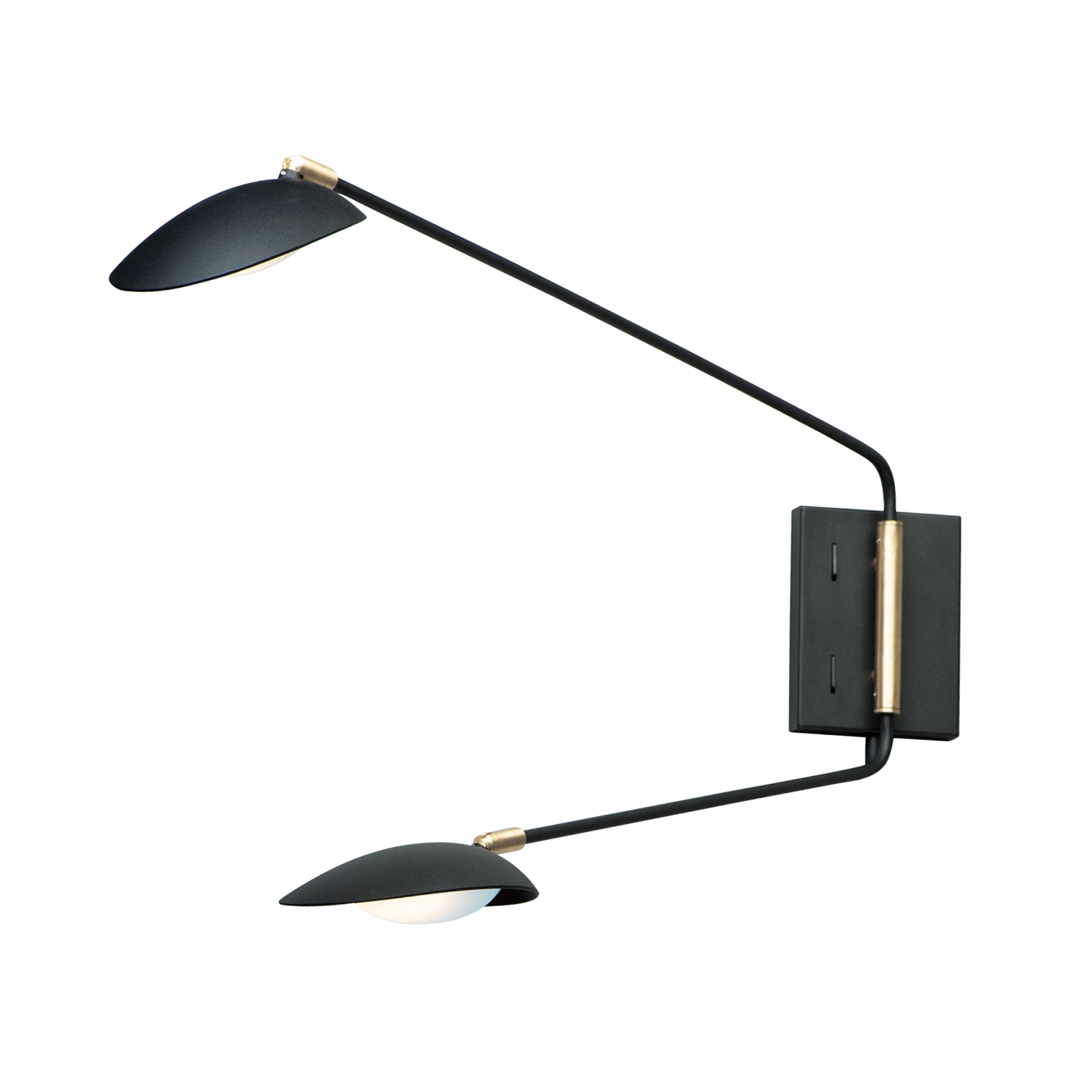 Scan 2-Light LED Pin-Up Wall Sconce | Maxim Lighting