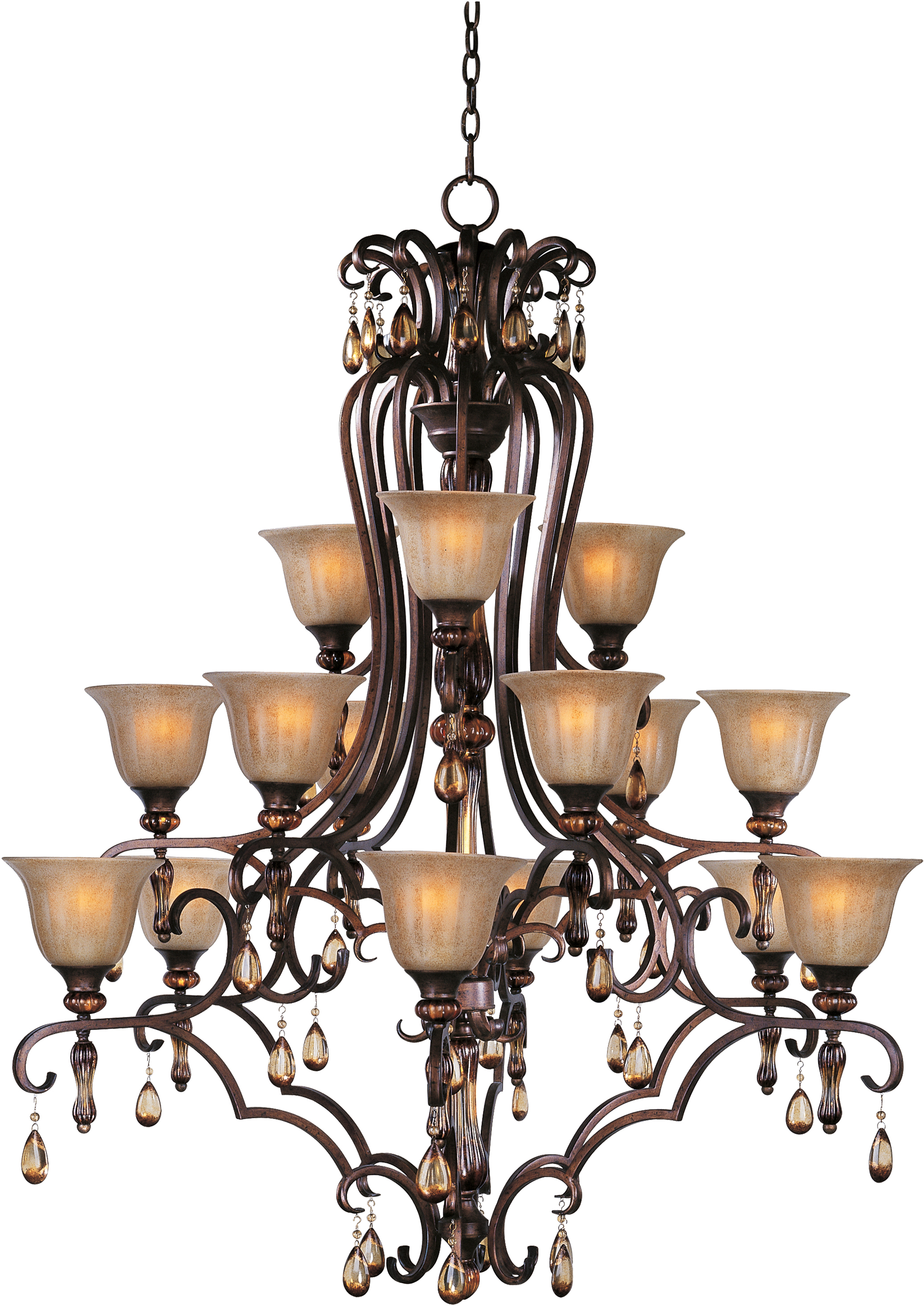 Dresden 15 Light Chandelier Multi Tier Chandelier