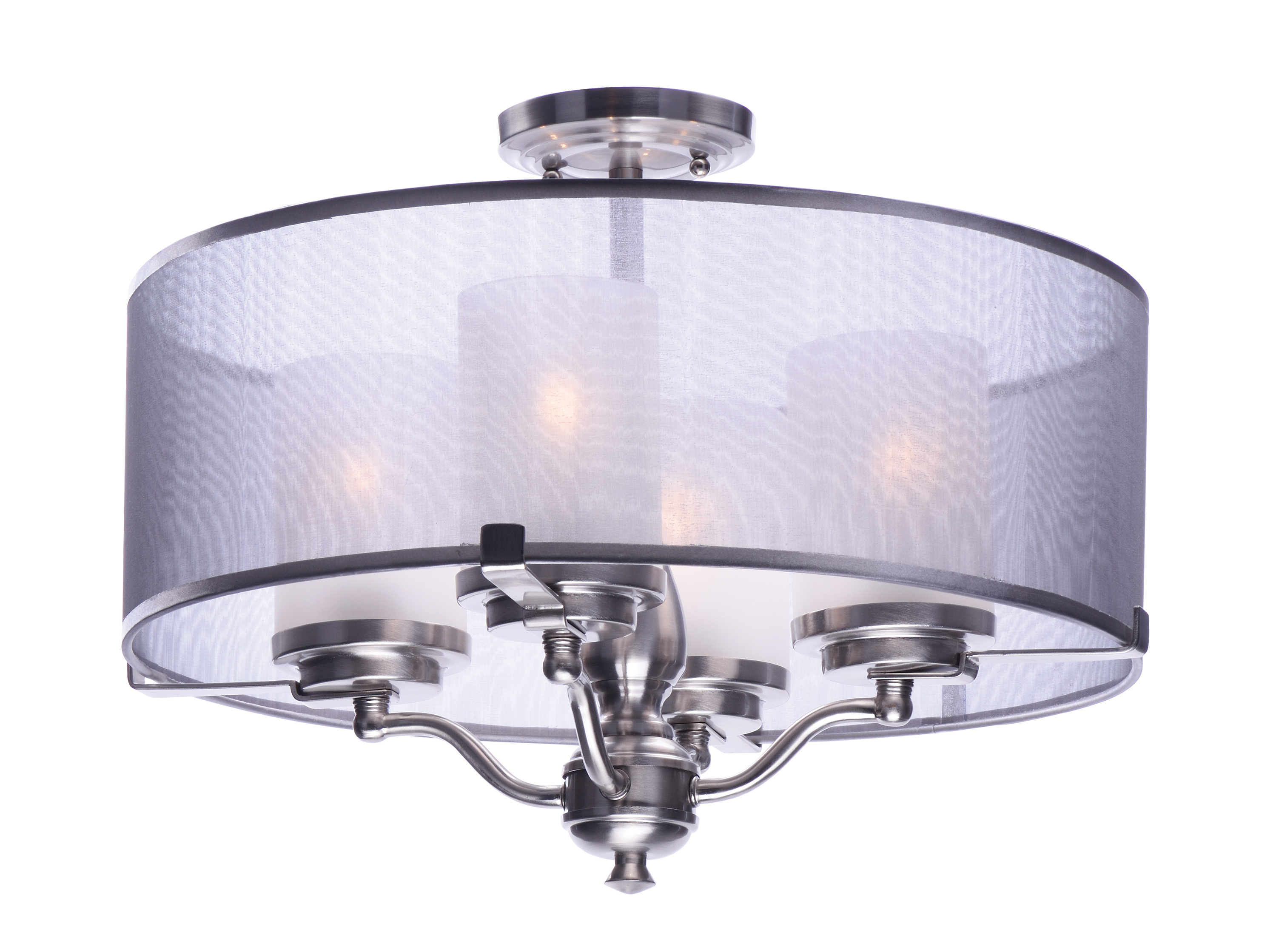 Lucid 4-Light Semi-Flush Mount
