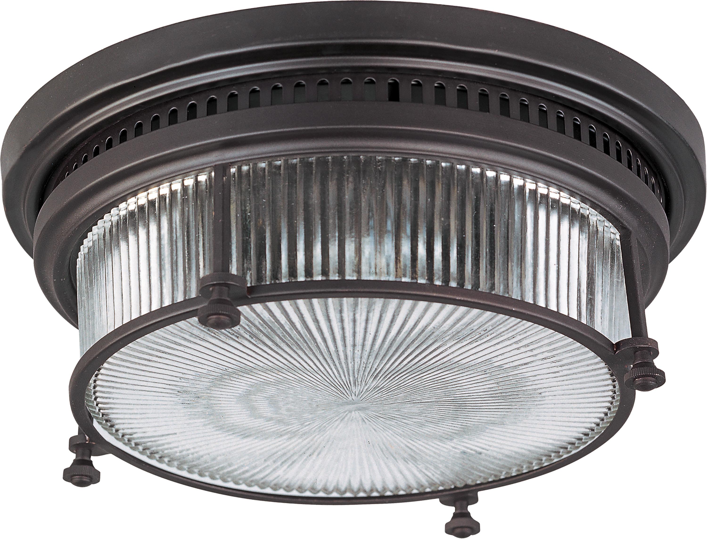 Hi-Bay 2-Light Flush Mount | Maxim Lighting