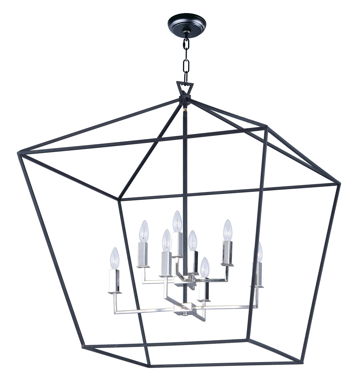 Abode Chandelier   Maxim Lighting