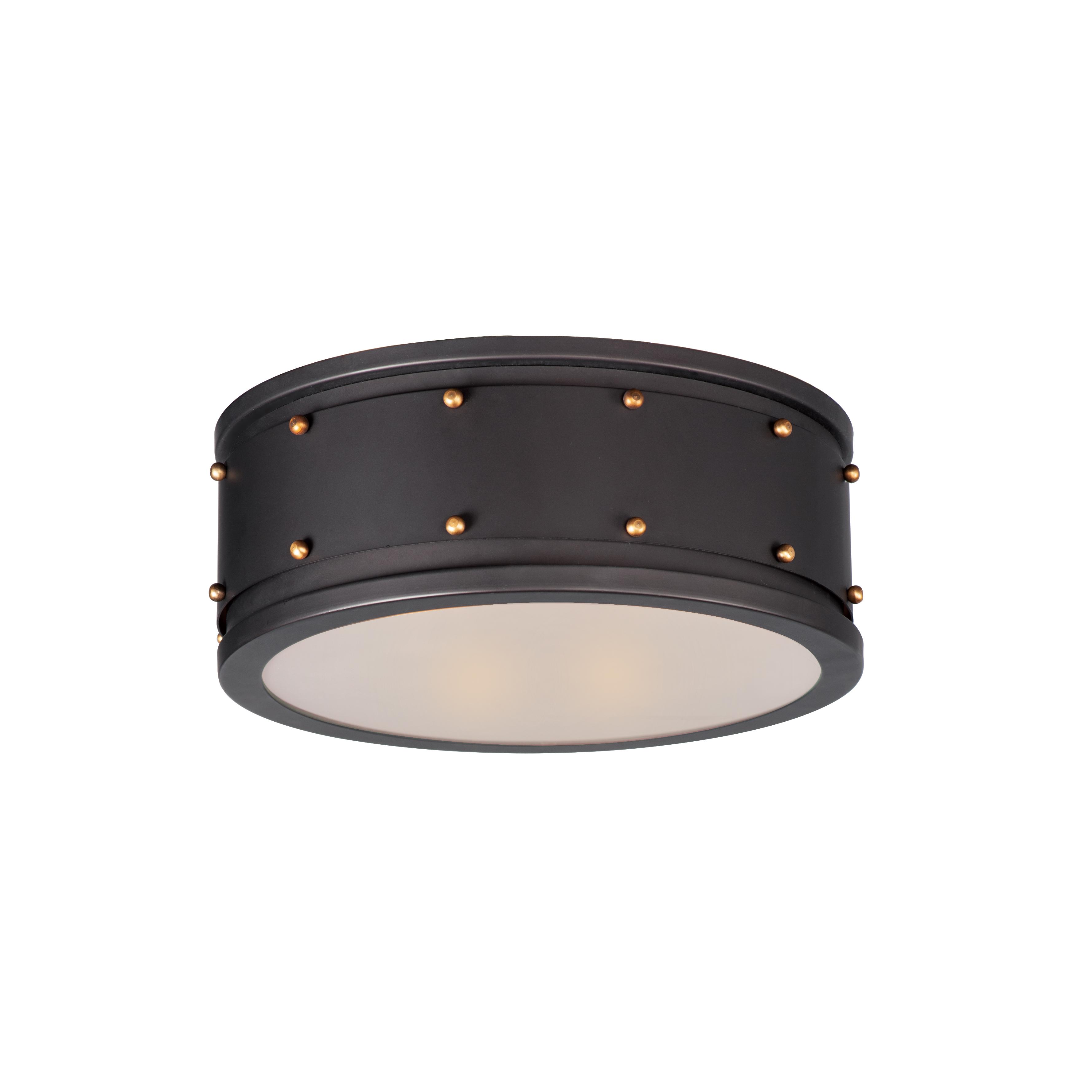 Trestle 2-Light Flush Mount | Maxim Lighting