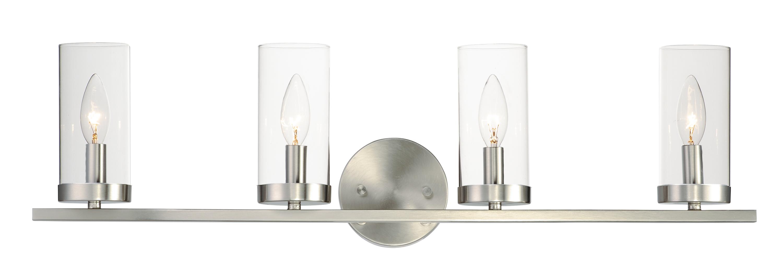 Sentinel 4-Light Bath Vanity   Maxim Lighting