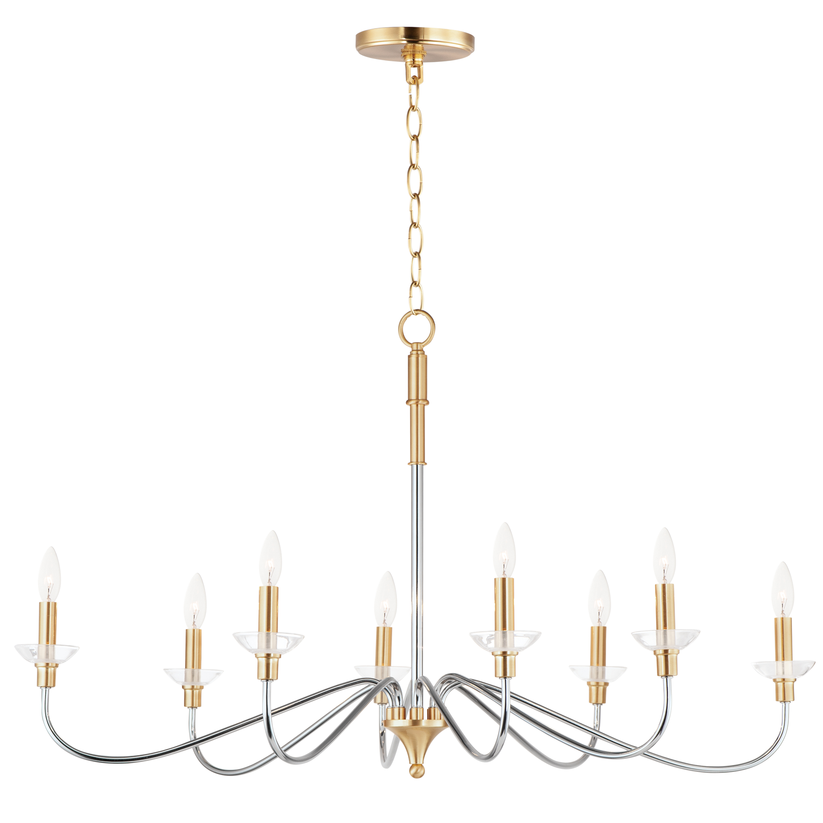 Clarion 8-Light Chandelier | Maxim Lighting