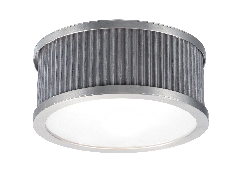 Ruffle Flush Mount   Maxim Lighting