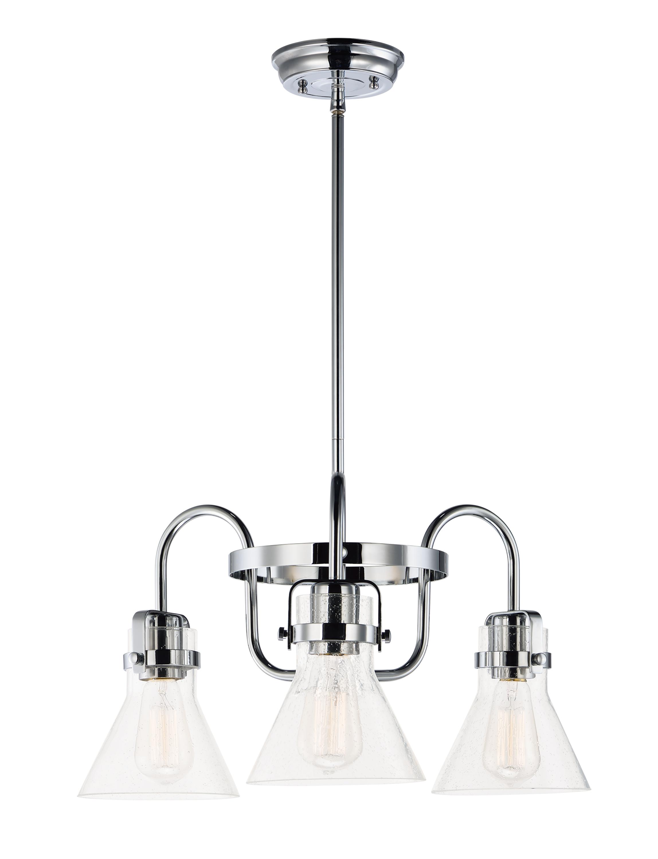 Seafarer 3-Light Chandelier   Maxim Lighting