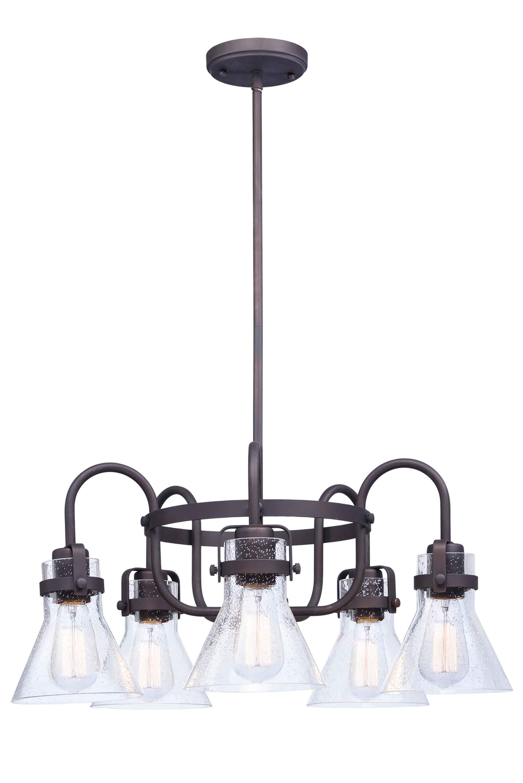 Seafarer 5-Light Chandelier   Maxim Lighting