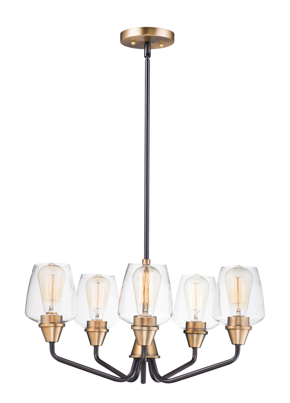 Goblet 5-Light Chandelier | Maxim Lighting