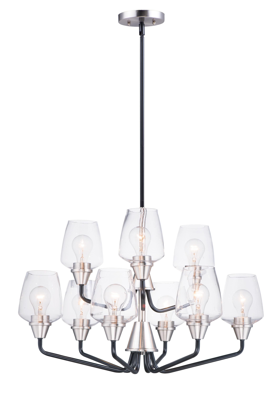 Goblet 9-Light Chandelier | Maxim Lighting