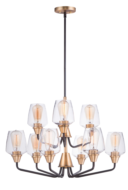 Goblet 9-Light Chandelier   Maxim Lighting