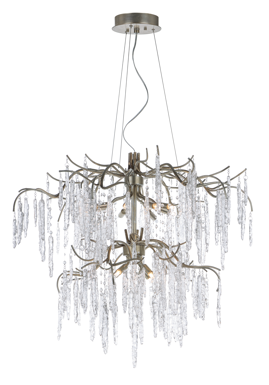Willow 12-Light Chandelier | Maxim Lighting