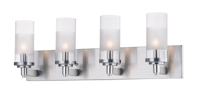 Crescendo 4-Light Bath Vanity | Maxim Lighting