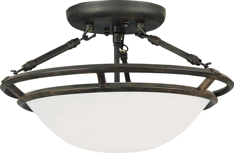 Stratus 3-Light Semi-Flush Mount | Flush Mount | Maxim Lighting