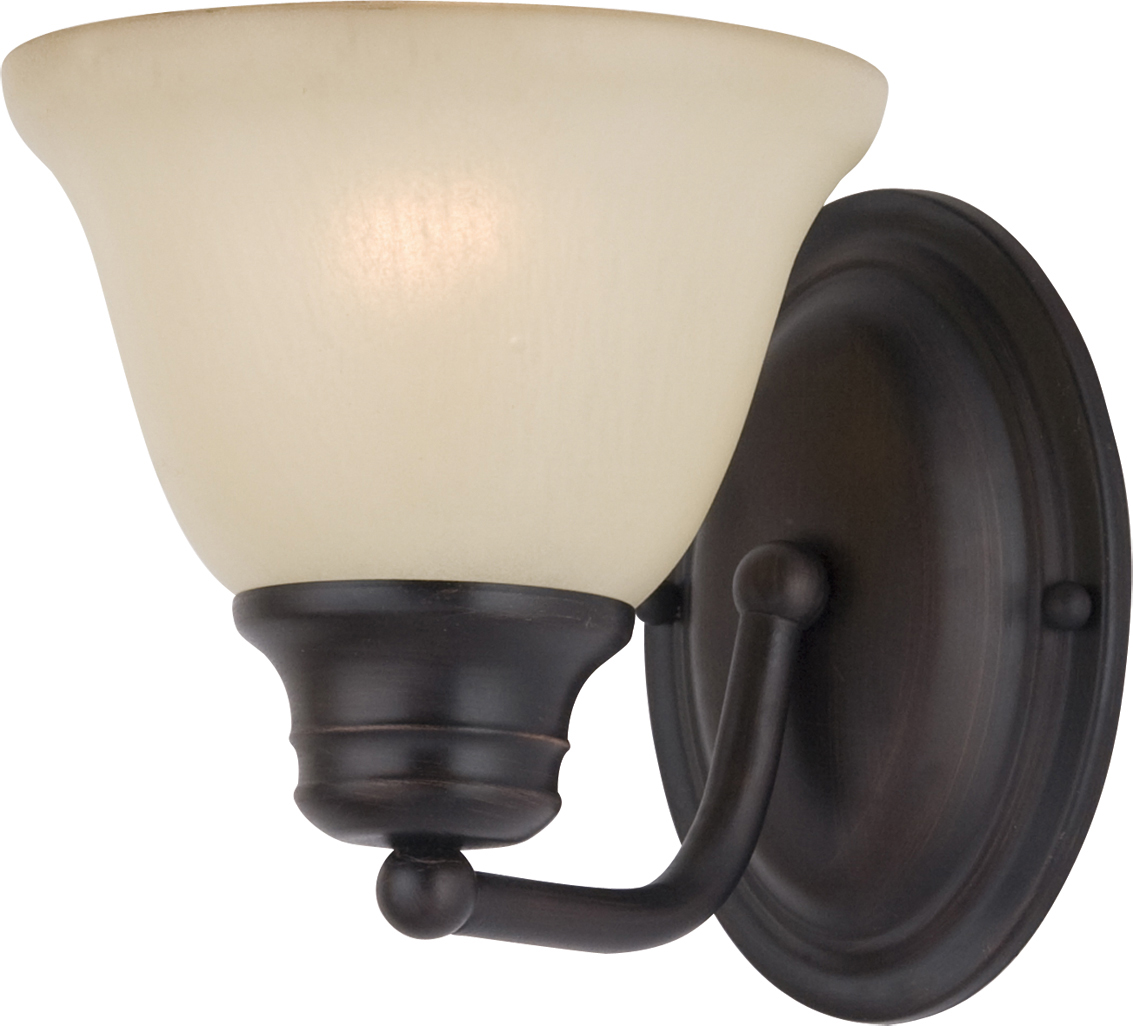 malaga 1 light wall sconce wall sconce maxim lighting. Black Bedroom Furniture Sets. Home Design Ideas