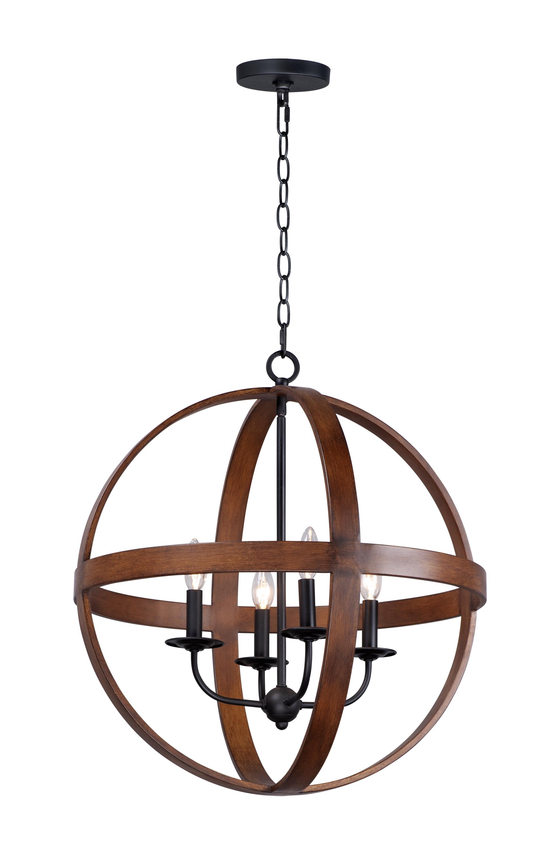 Compass 4-Light Pendant | Maxim Lighting