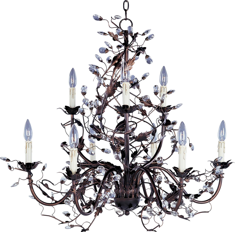 Elegante 9-Light Chandelier | Maxim Lighting