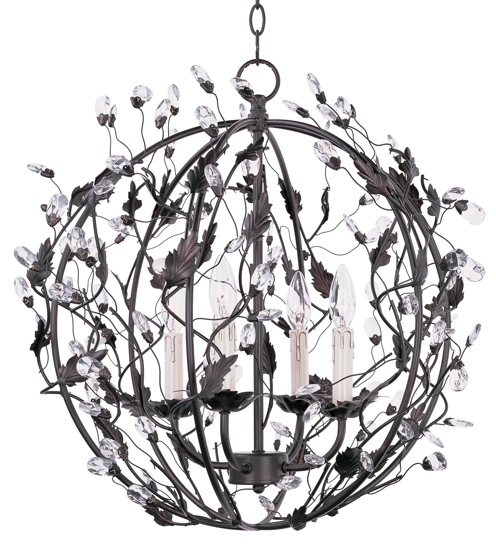 Elegante 4-Light Ball Pendant | Maxim Lighting