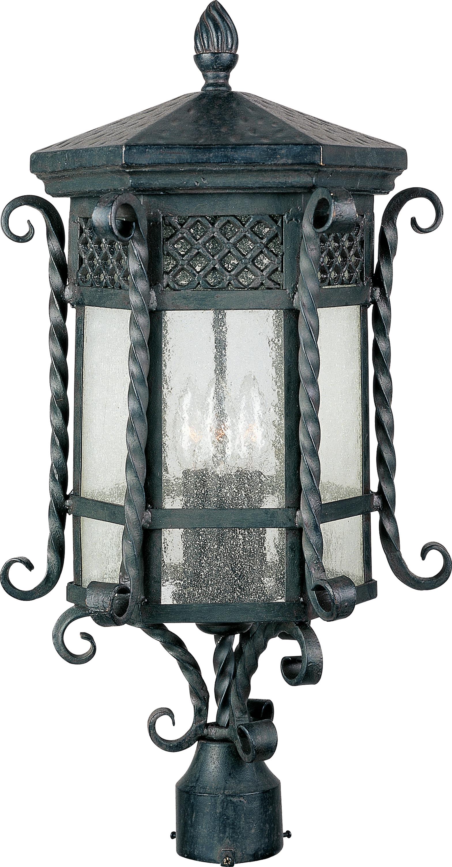 Scottsdale Outdoor Pole   Maxim Lighting