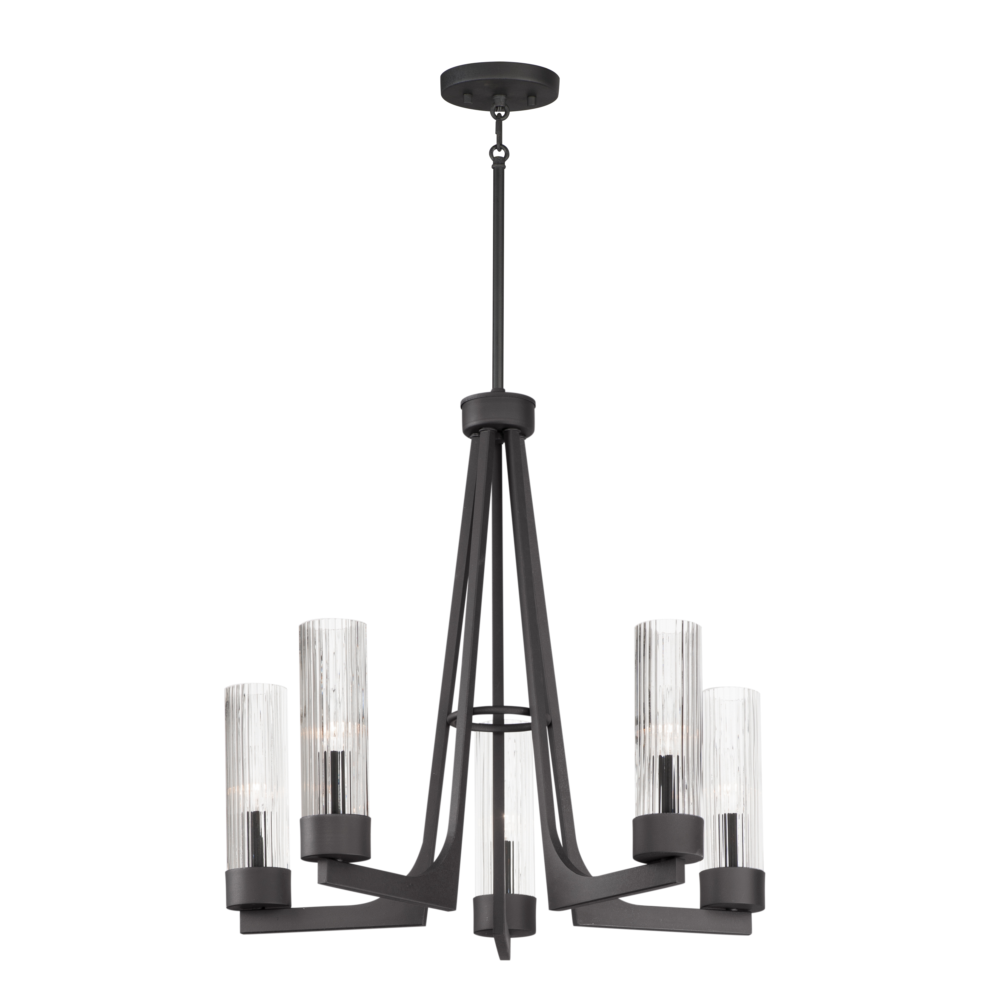 Delos 5-Light Chandelier | Maxim Lighting