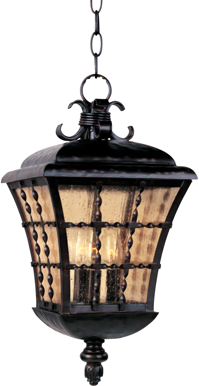 Orleans 3 Light Outdoor Hanging Lantern Outdoor Hanging