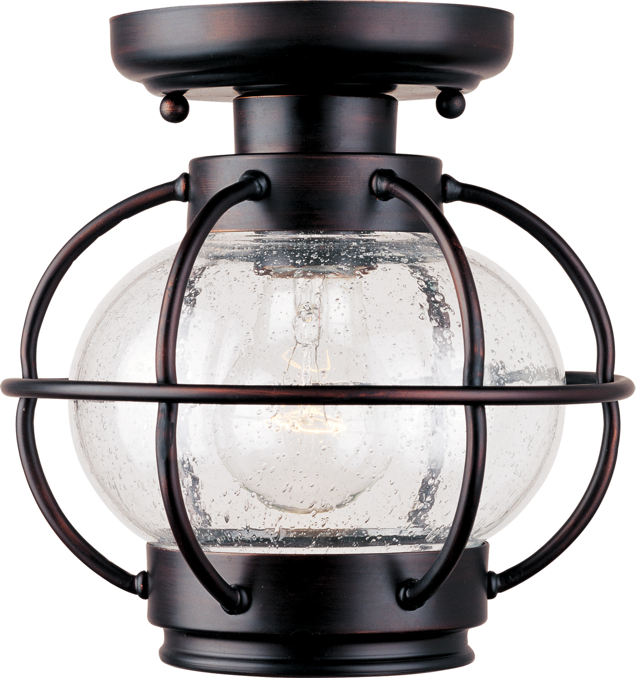 Portsmouth 1 Light Outdoor Ceiling Mount Outdoor Flush Mount