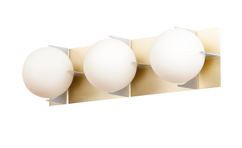 Finn 3-Light Bath Vanity | Maxim Lighting