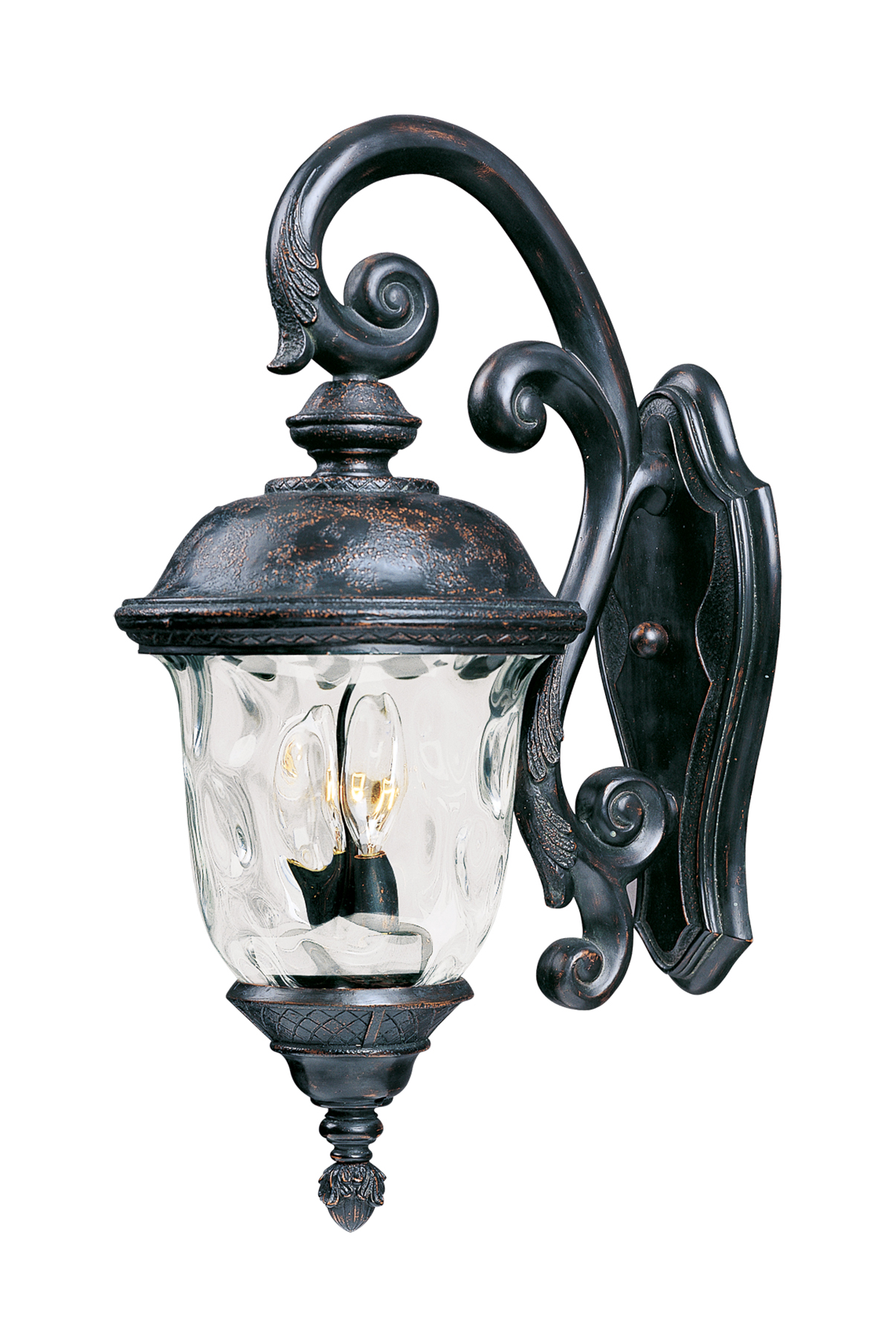 Exceptional Carriage House DC 3 Light Outdoor Wall Lantern New
