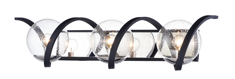 Curlicue 3-Light Bath Vanity | Maxim Lighting