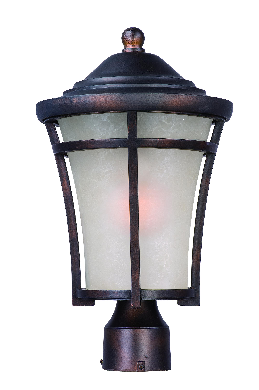 Balboa dc 1 light medium outdoor post outdoor pole post for Outside pole light fixtures