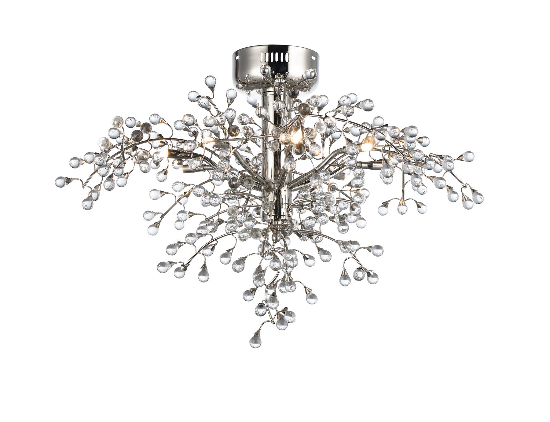 Cluster 8-Light LED Semi-Flush Mount | Maxim Lighting