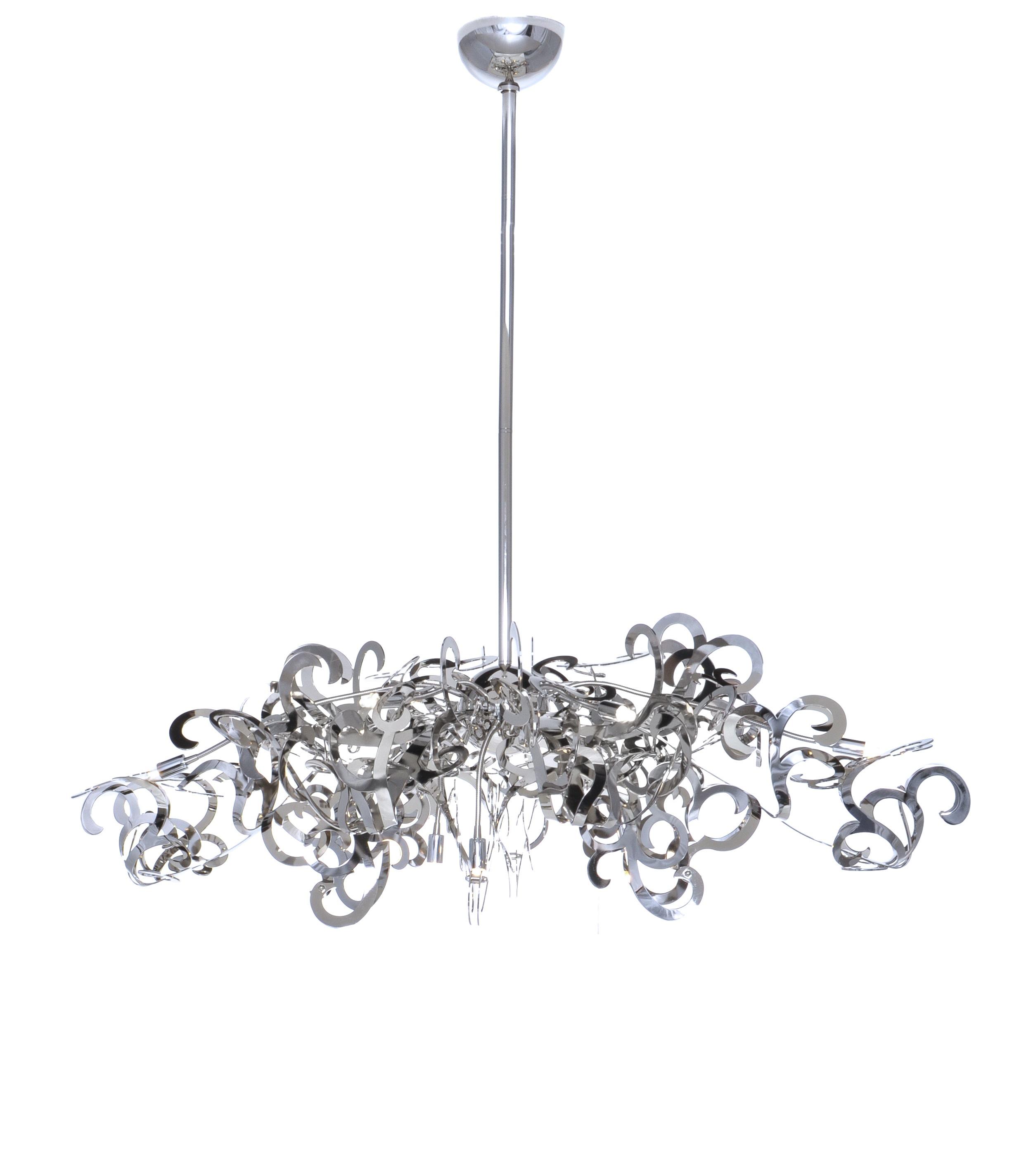 tempest 9-light chandelier