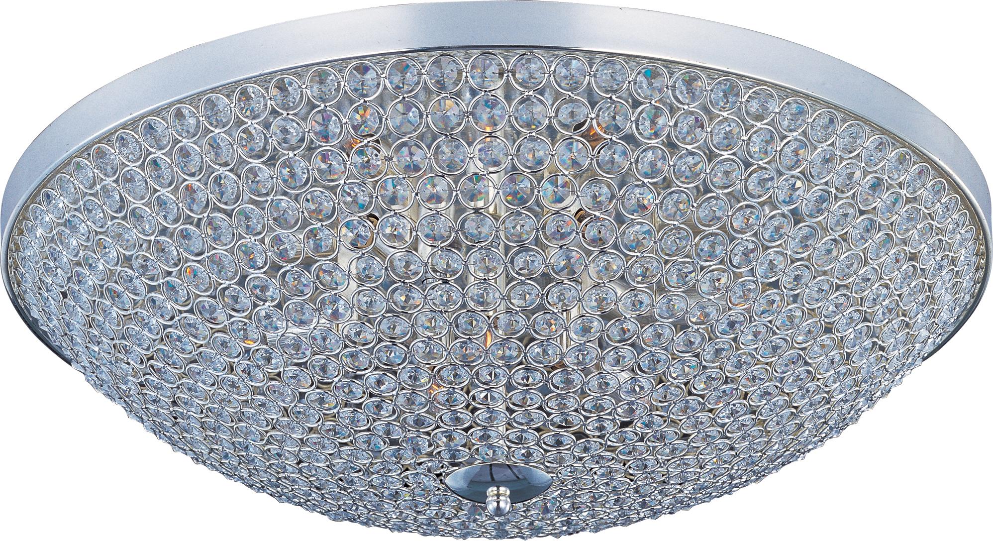 Glimmer 6-Light Flush Mount | Maxim Lighting
