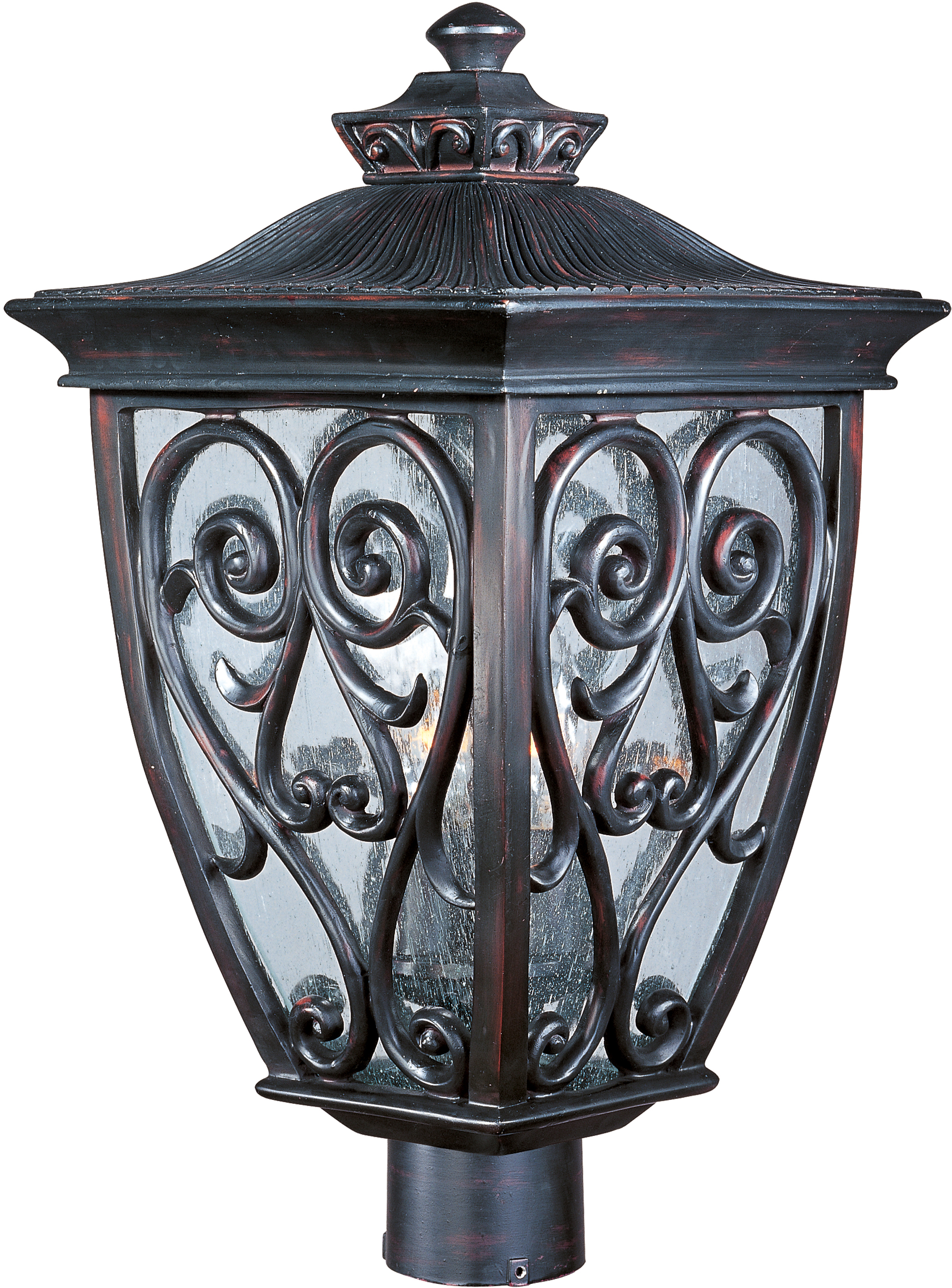 Newbury vx 3 light outdoor polepost lantern outdoor polepost newbury vx aloadofball Gallery