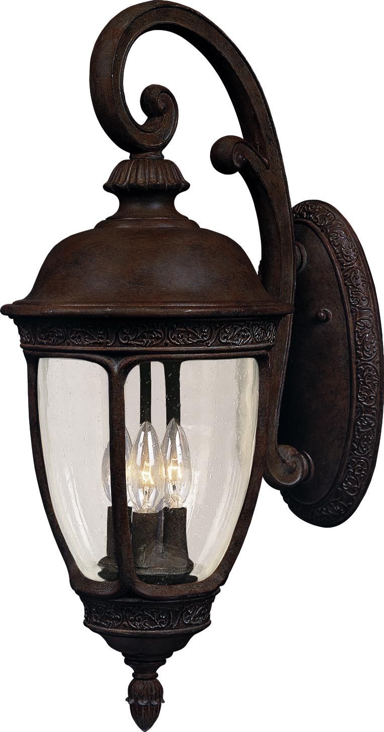 Knob Hill Vx 3 Light Outdoor Wall Lantern Outdoor