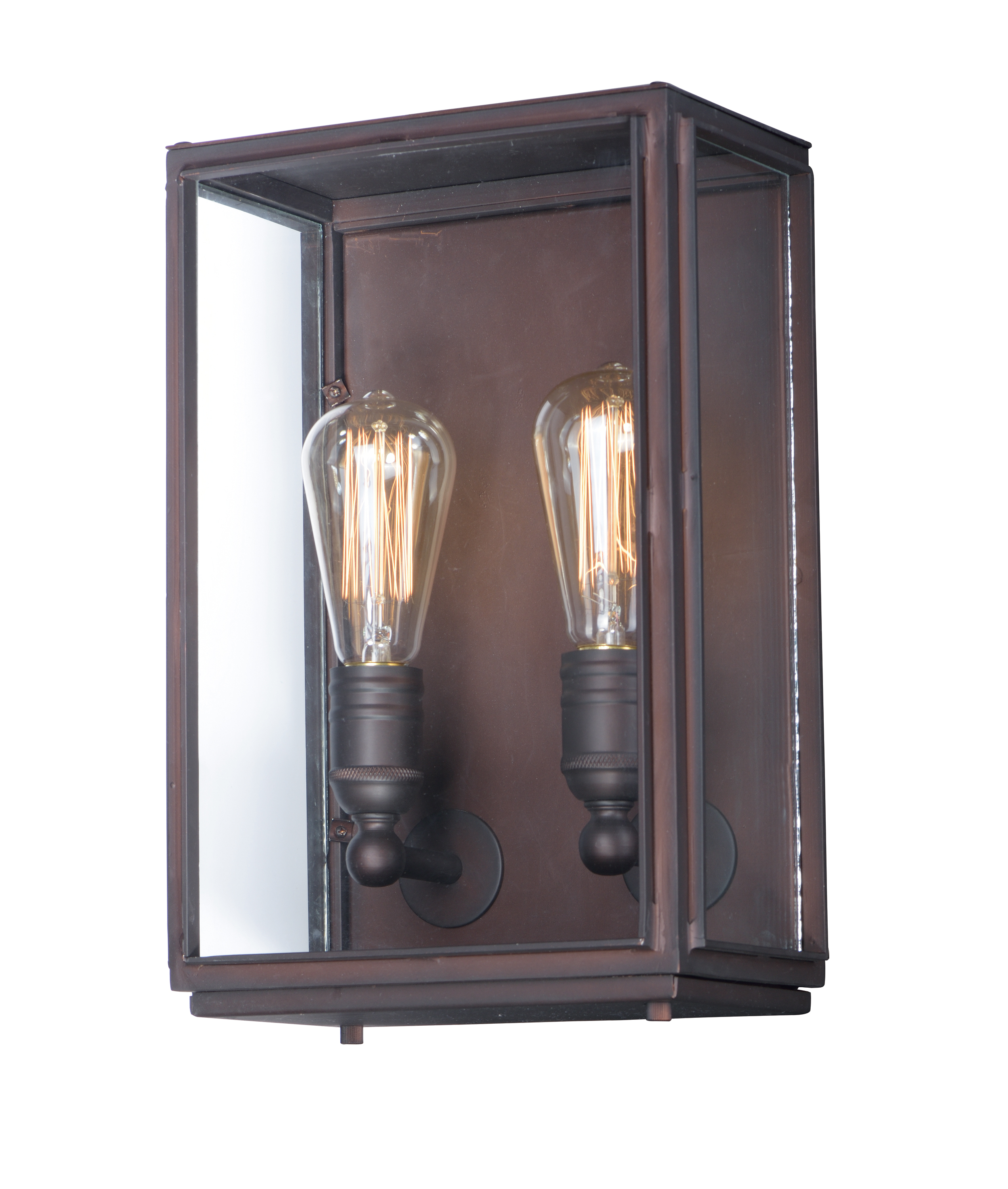 Mounting Height For Exterior Wall Sconces : Pasadena 2-Light Outdoor Wall Lantern - Outdoor Wall Mount - Maxim Lighting