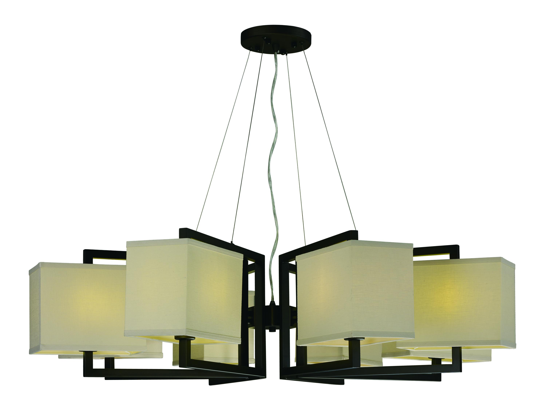 Baldwin 8 Light Pendant Single Maxim Lighting