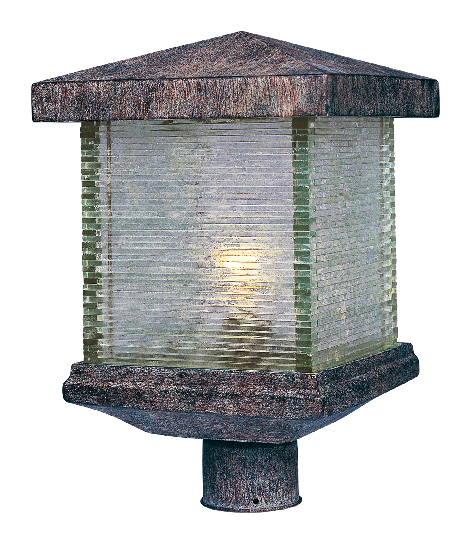 triumph vx 1 light outdoor pole post lantern outdoor